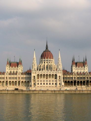 Budapest Parlament front